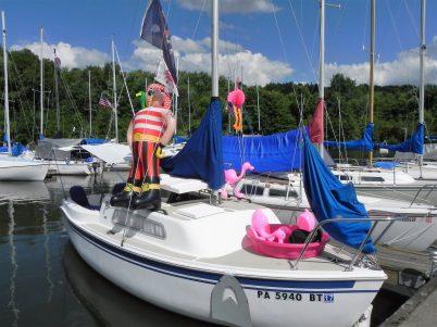 Decorated Boat